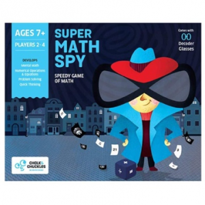 Super Math Spy Kids Board Game