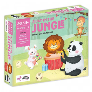 A day in the jungle bingo Kids Board Game