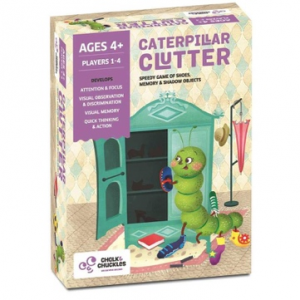 Caterpillar Clutter Kids Board Game