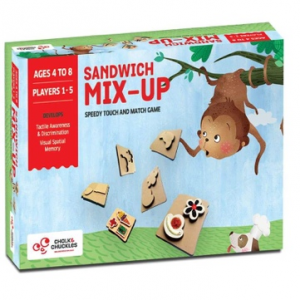 Sandwich Mix Up Kids Board Game