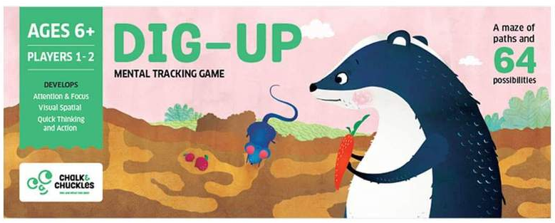 Dig Up Kids Board Game