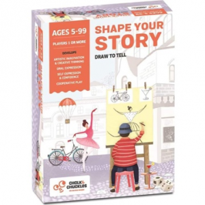 Shape Your Story Kids Board Game