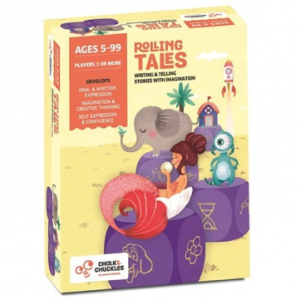 Rolling Tales Kids Board Game
