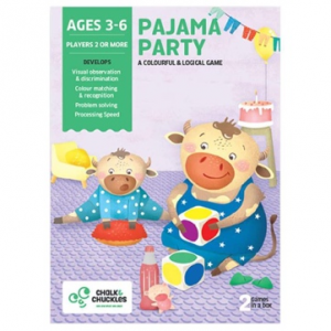 Pajama Party Kids Board Game